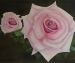 A Rose By Any Other Name. Large (A0) original oil painting